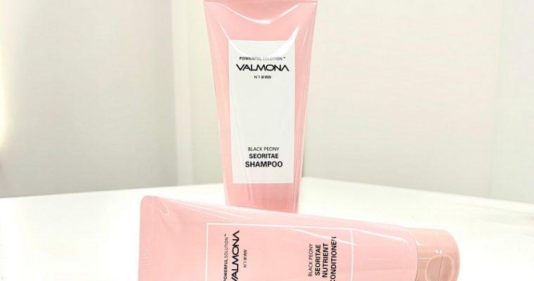 Шампунь и кондиционер для волос с экстрактом черных бобов от VALMONA