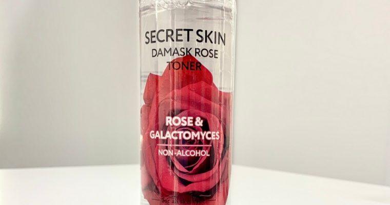 Увлажняющий тоник для лица с розой от Secret Skin
