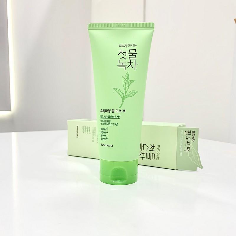 Очищающая маска-пленка с экстрактом зеленого чая от WELCOS