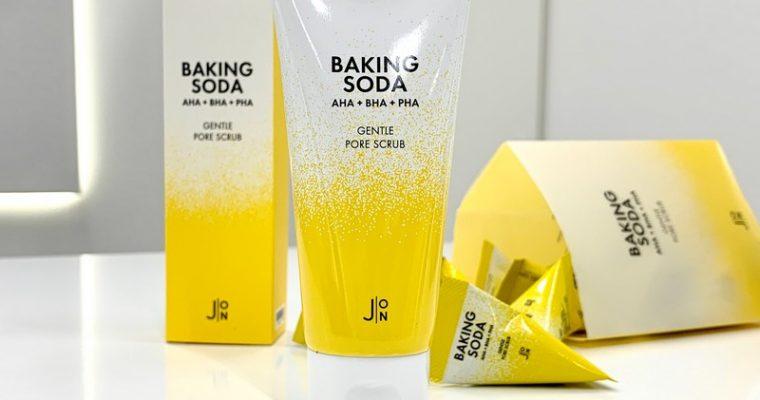 Содовый скраб для очищения пор от J:ON