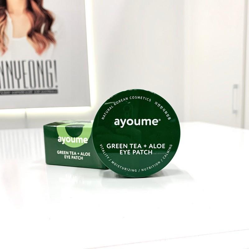 Патчи с зеленым чаем и алоэ от AYOUME