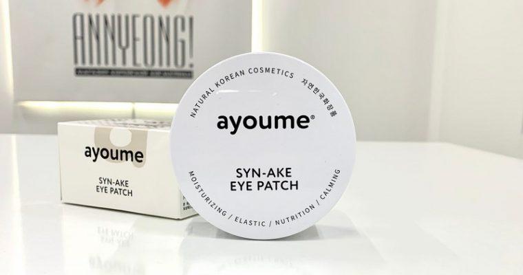 Патчи для глаз с пептидом Syn-Ake от AYOUME
