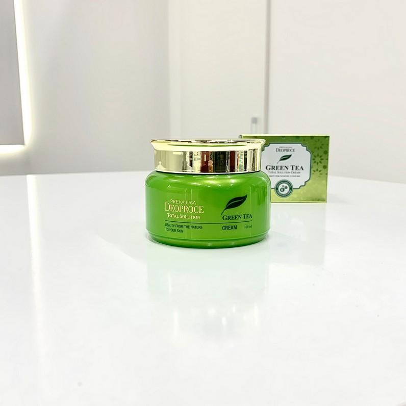 Крем с экстрактом зеленого чая от DEOPROCE