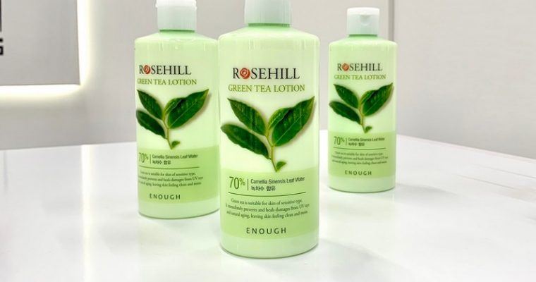 Лосьон для лица с экстрактом зеленого чая от Enough