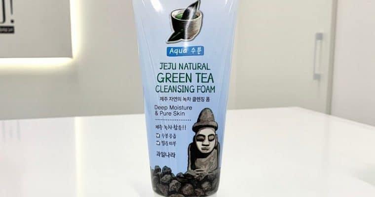 Пенка для умывания с экстрактом зеленого чая от WELCOS