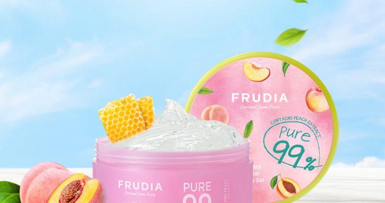 Успокаивающий гель с экстрактом персика FRUDIA