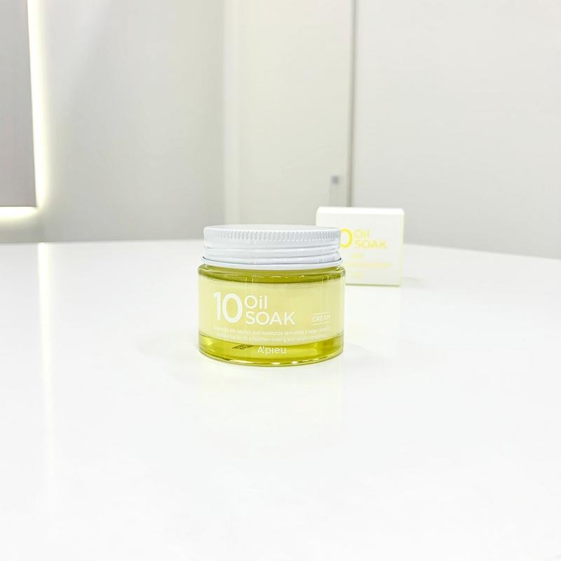 Восстанавливающий крем на основе 10 натуральных масел от A'PIEU