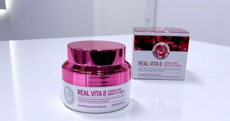 Питательный крем для лица Enough Real Vita 8 Complex Pro Bright Up Cream