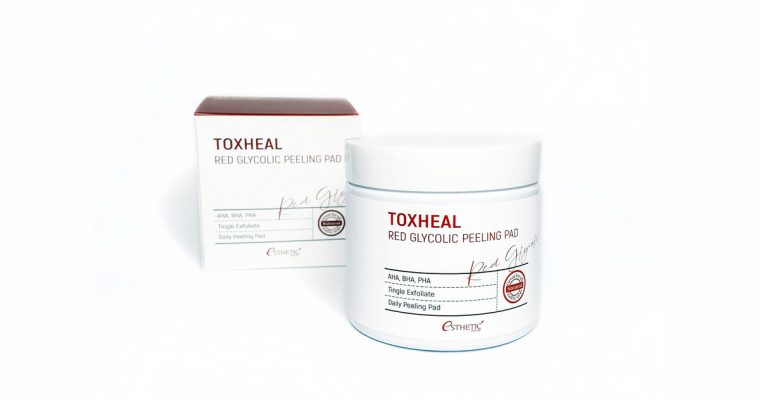 Пилинг-пэды ESTHETIC HOUSE Toxheal Red Glycolic Peeling Pad