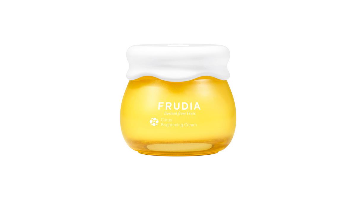 Крем с экстрактом мандарина для сияния кожи FRUDIA