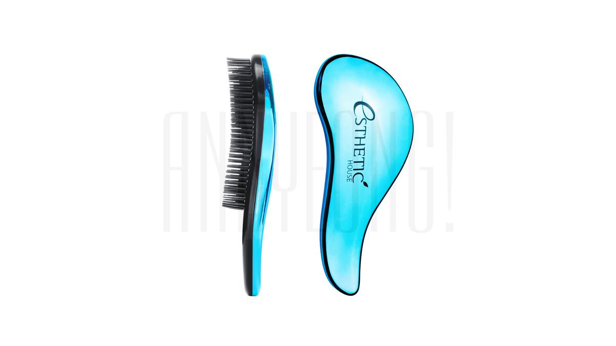 Расческа для волос лазурная Esthetic House Hair Brush For Easy Comb