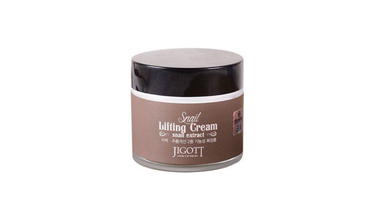Подтягивающий крем с экстрактом слизи улитки JIGOTT