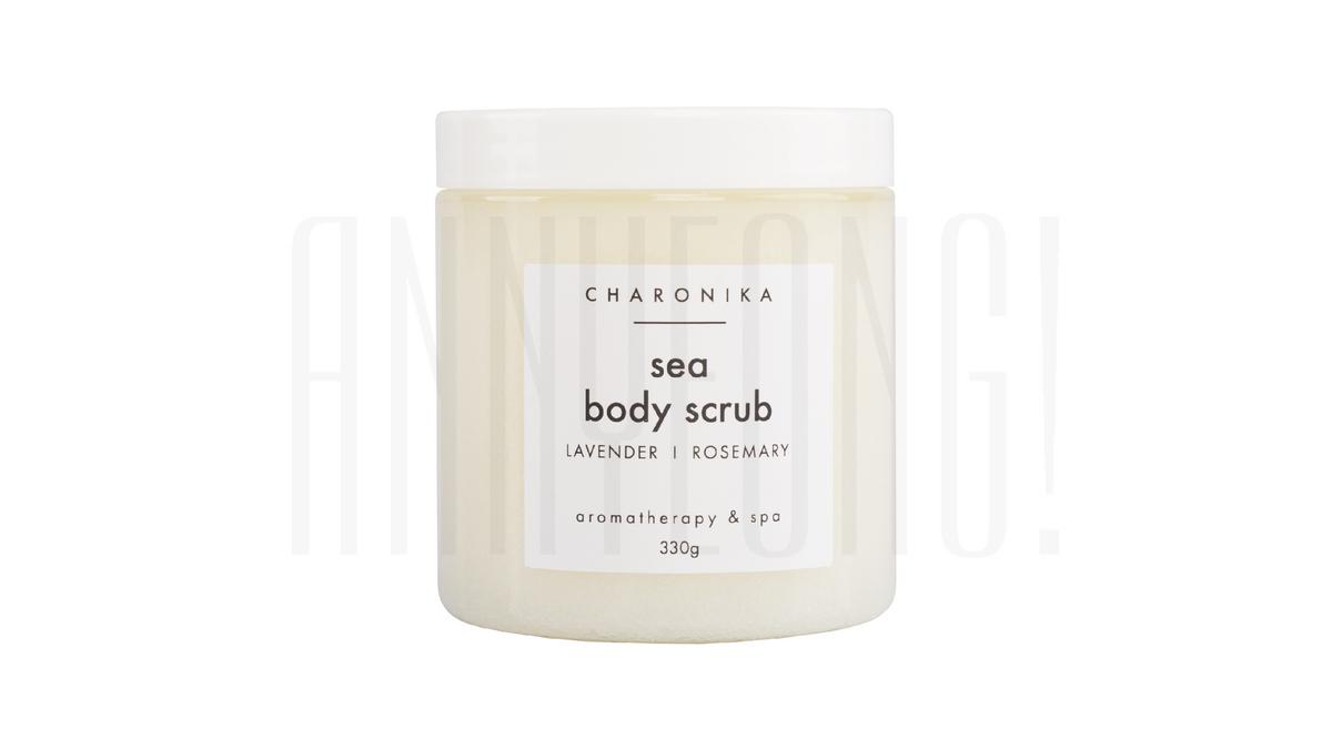 Соляной скраб для тела SEA BODY SCRUB от charonika